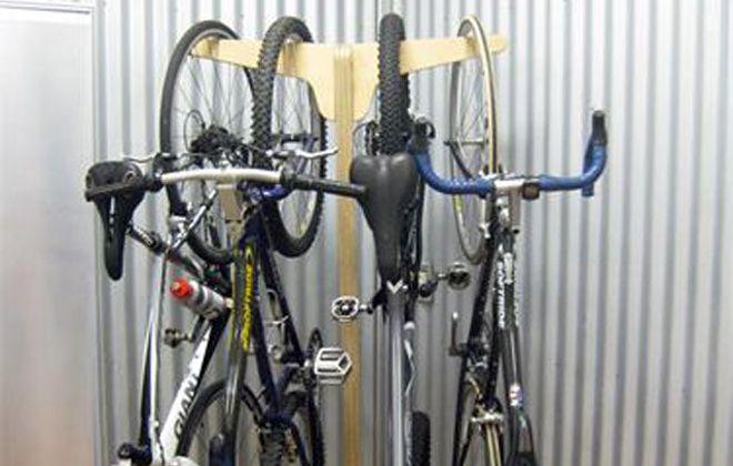 варианты креплений велосипеда