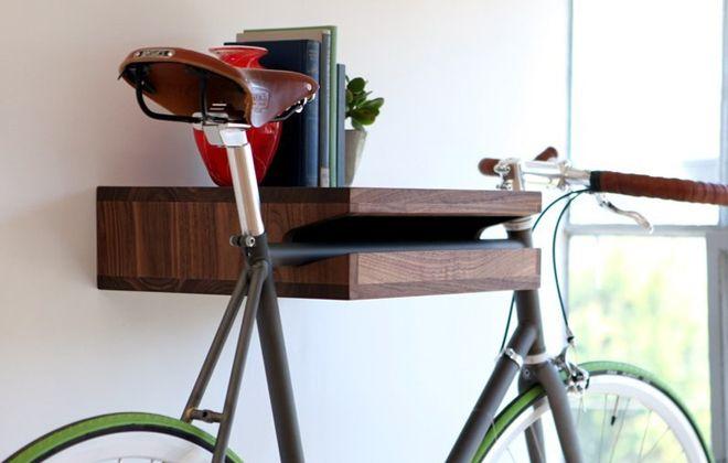 держатель для велосипеда на стенку