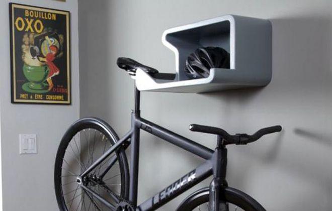 полка для крепления велосипеда