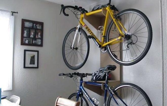 кронштейн для крепления велосипеда на стену