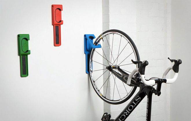 складное крепление для велосипеда на стену