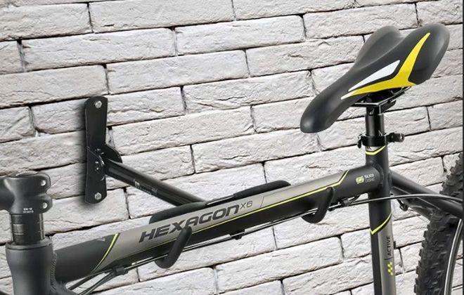 крепление для велосипеда на стену своими руками