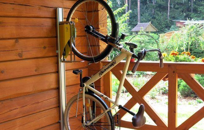 крепление для велосипеда на стенку