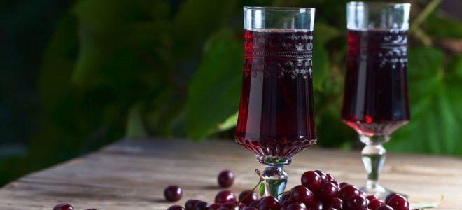 вишневая наливка классический рецепт