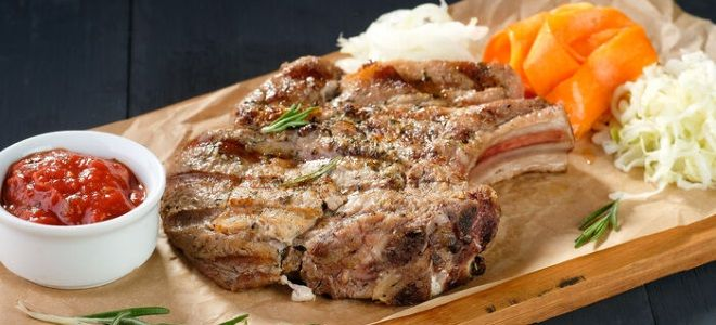 блюда из свиной корейки