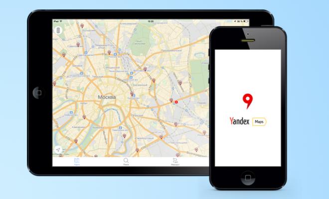 сервис Яндекс Карты