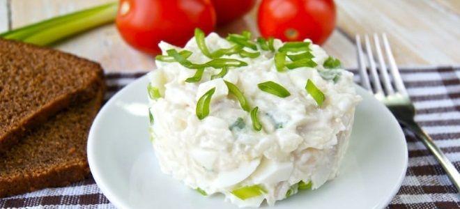 рыбный салат из окуня
