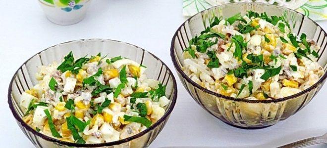 рыбный салат с тунцом