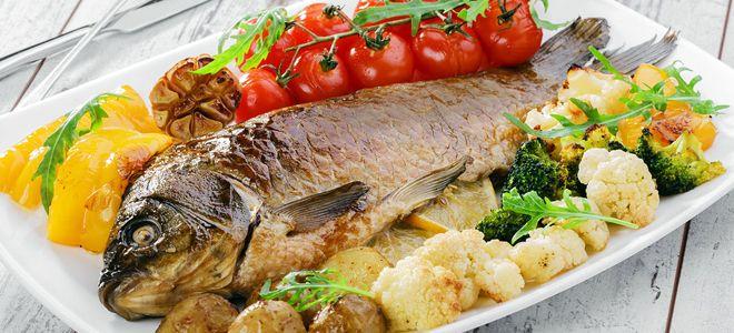 рыба язь запеченная в духовке