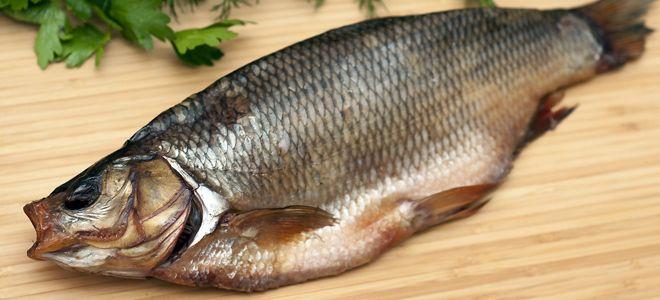 вяленая рыба язь