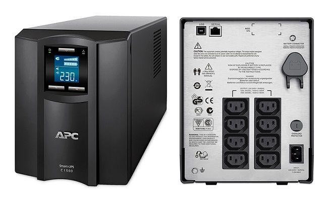 APC by Schneider Electric Smart UPS 1500VA LCD 230V