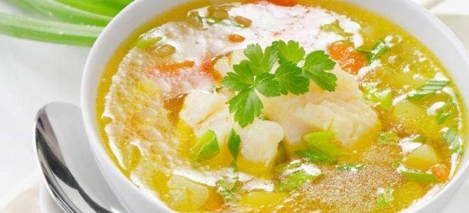 рыбный суп из трески