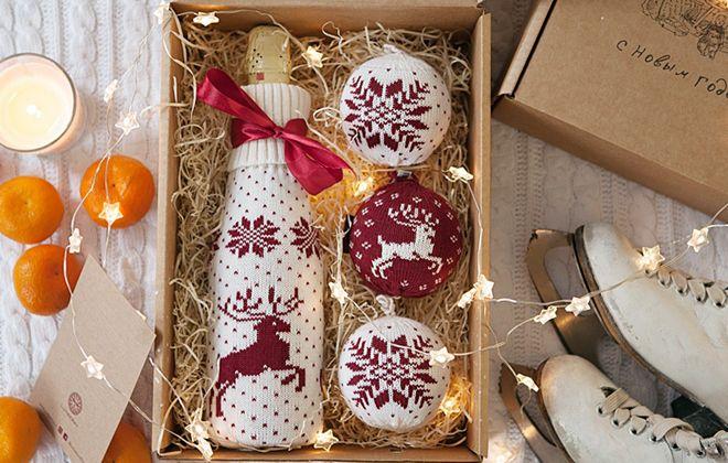 подарочные наборы для женщин на новый год