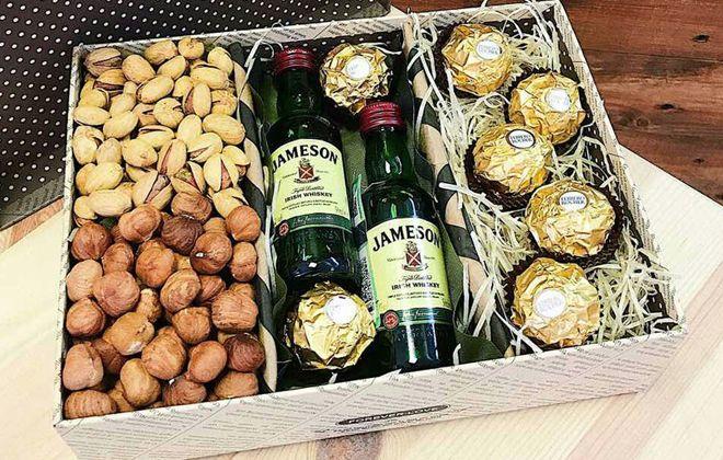 подарочные наборы для мужчин на новый год