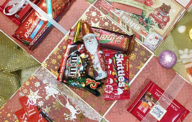подарочные наборы на новый год детям