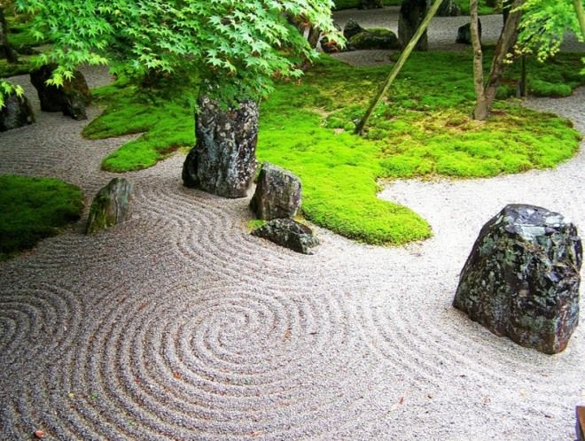 образная символика японского сада