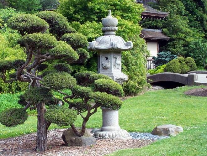 элементы японского сада