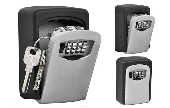 настенная ключница с электронным замком