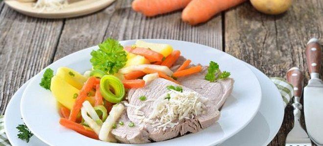 как приготовить мясо в пароварке
