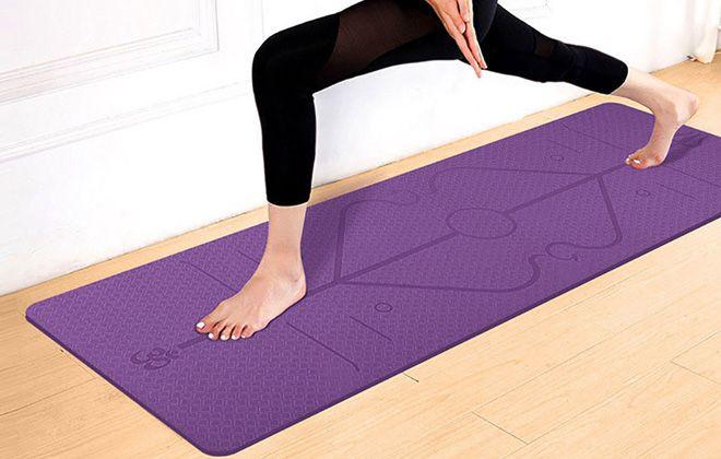 зачем нужен коврик для фитнеса