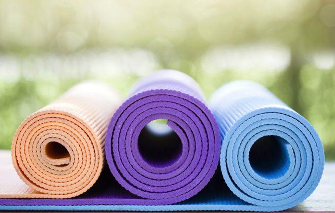 коврик для фитнеса материал