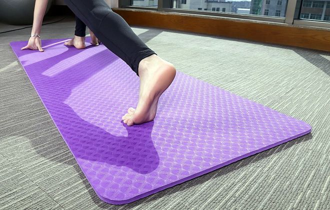 толстый коврик для фитнеса