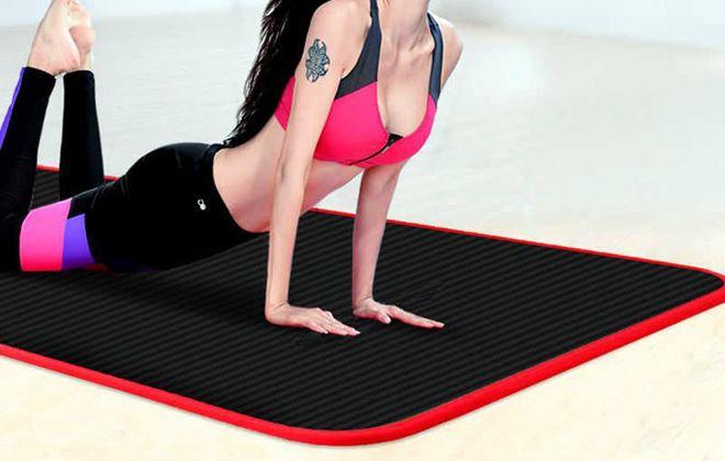 нескользящий коврик для фитнеса