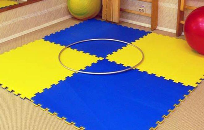 детский коврик для фитнеса