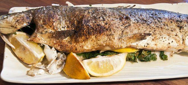 рыба сиг в духовке