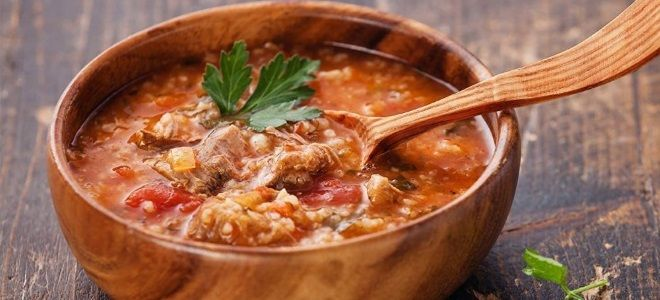 грузинский суп рецепты