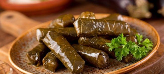 грузинское блюдо долма