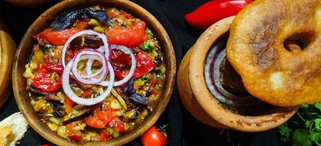 грузинское блюдо аджапсандали