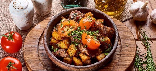 грузинское блюдо оджахури
