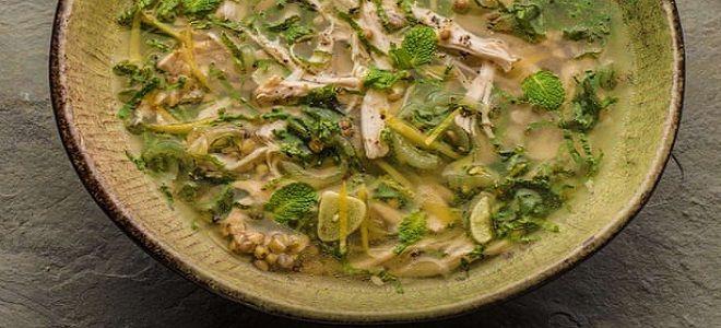 греченвый суп с курицей рецепт