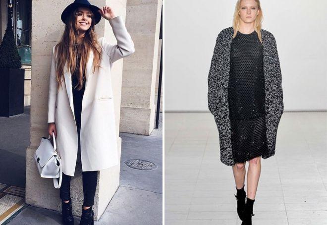 Модная верхняя одежда осень 2017 для женщин – пальто, плащи, куртки ... 8b909f2ef8b