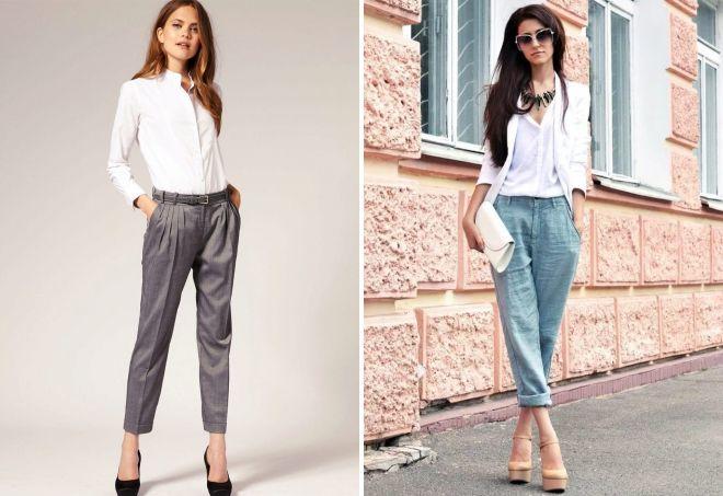 большие женские брюки
