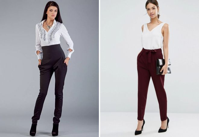 фасоны брюк для женщин