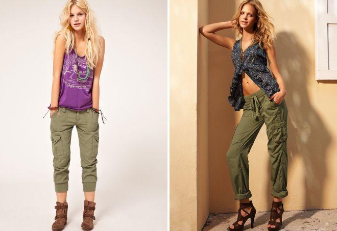 красивые брюки для женщин
