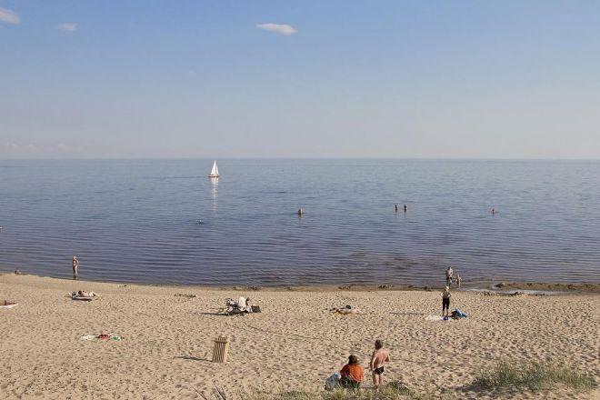 Пляж в Каукси