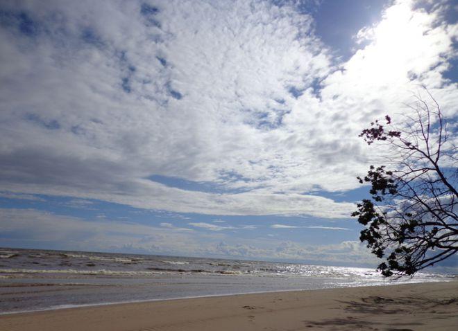 Пляж в Ремнику
