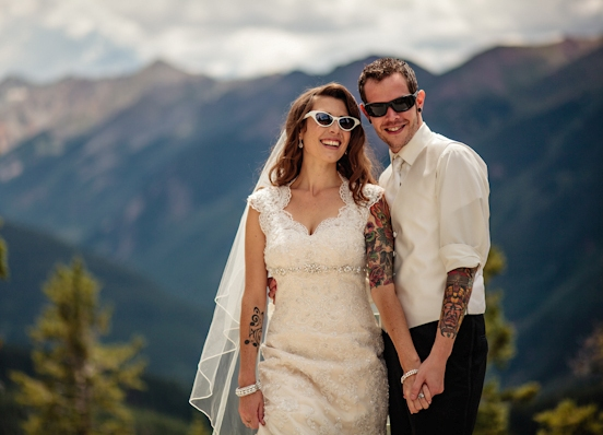 Свадьбы в стиле рока фото