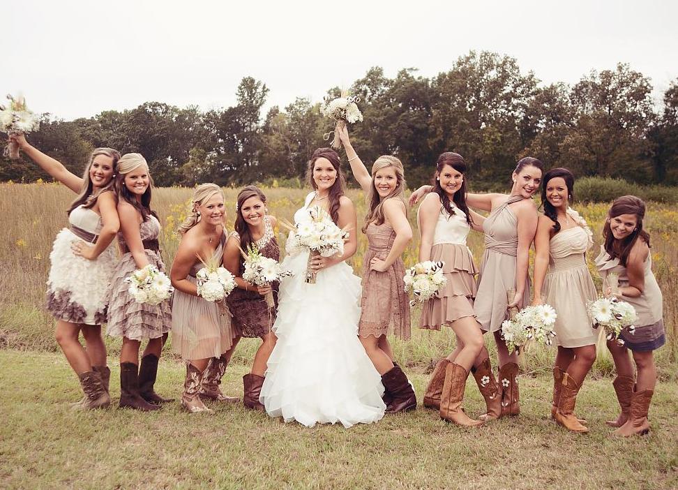Стиль кантри в свадьбе фото