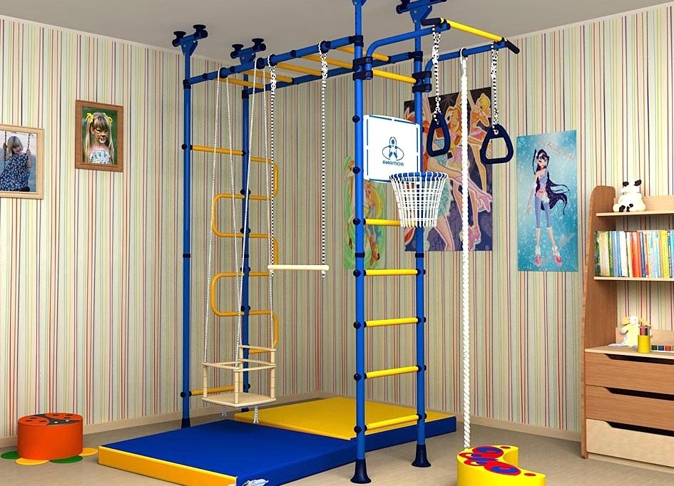 Детские комплексы для квартиры своими руками 599