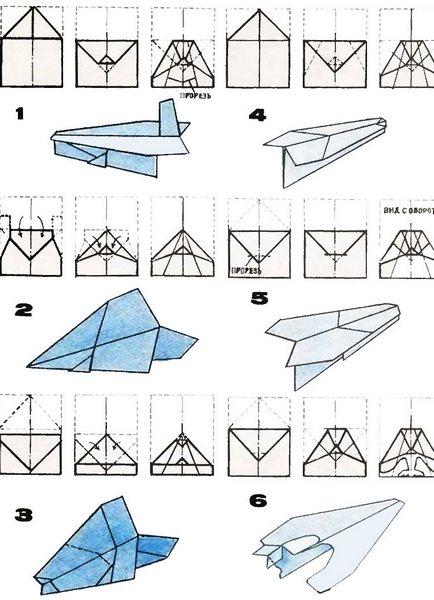 Как сделать бумажный самолетик который долго летает Корки. lol 90