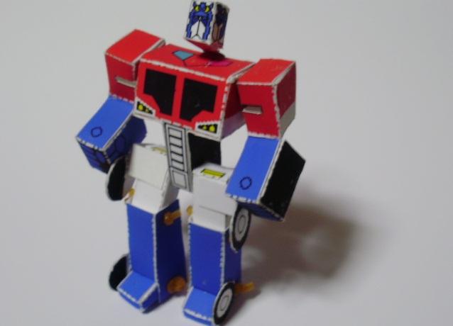 Робот из бумаги своими руками фото 534