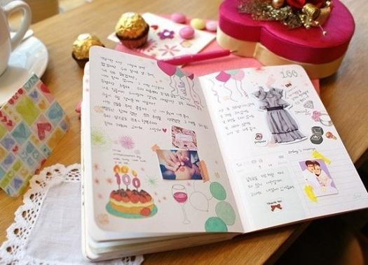 Как сделать личный дневник своими 815