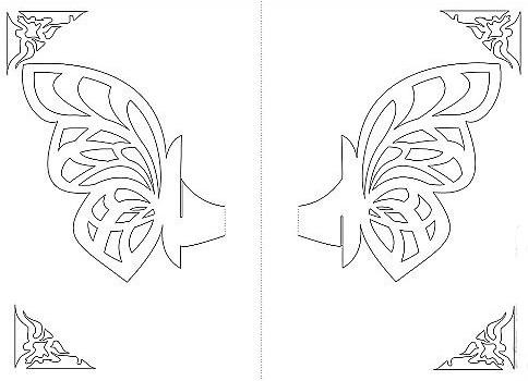 Киригами открытки своими руками фото 964