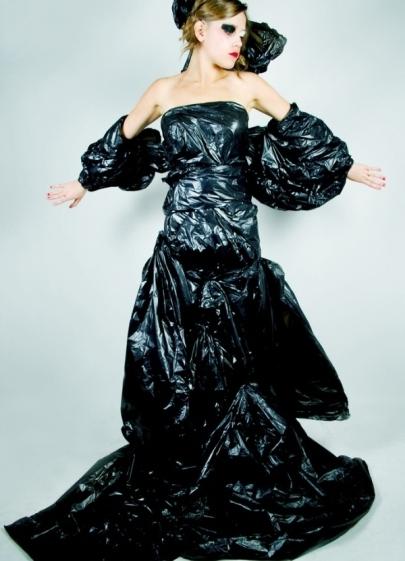 Как сделать платье из подручных материалов фото 851
