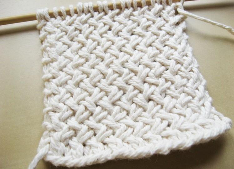Схема вязания спицами плетенки 174