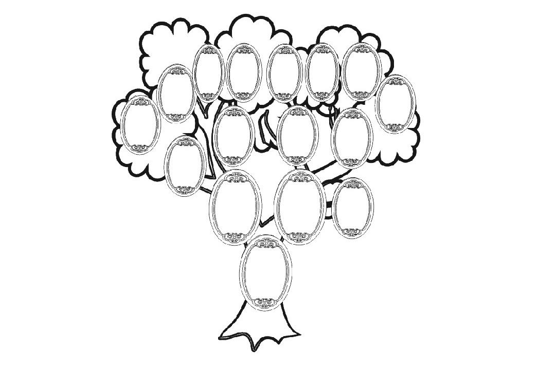 генеологичне дерево картинки распечатать то, что
